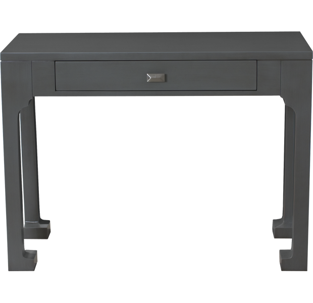Lorts 1295 Chow Leg Desk finished in French Grey