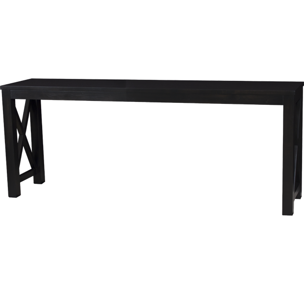 Lorts 3239 Console Table finished in Espresso