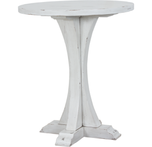 Lorts 3319 Bar Height Bistro Table finished in Marble