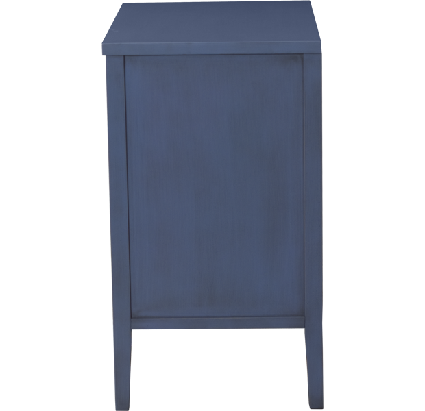 Lorts 4283 Three Drawer Nightstand finished in a Sherwin-Williams color