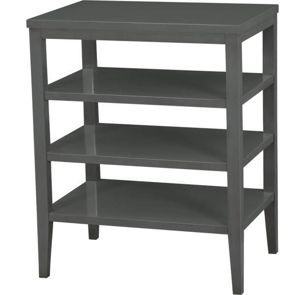 LORTS 4284 NIGHTSTAND FINISHED IN FRENCH GREY