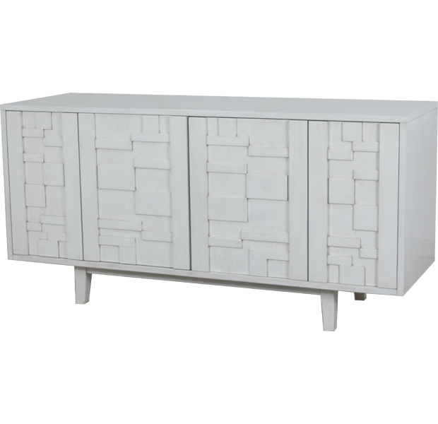 Lorts 8831 Decorative Buffet finished in Marble