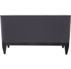Lorts Custom Styled Dining Banquette finished in Graphite