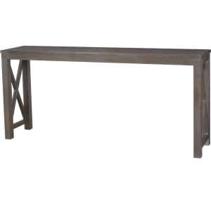Lorts Custom Sized 3239 Console Table finished in Greystone