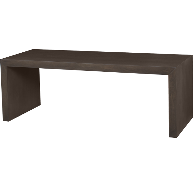 Lorts Custom Sized 3314 Cocktail Table finished in Mink